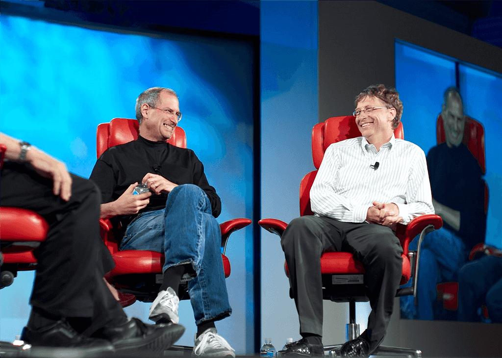 Steve-Jobs-and-Bill-Gates
